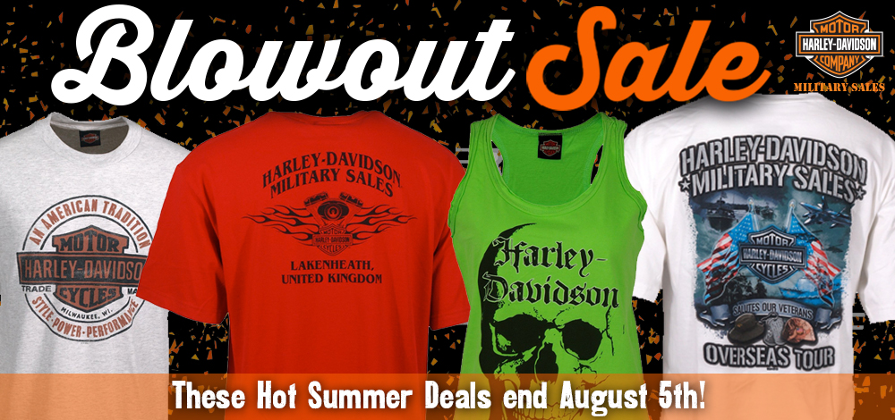 Harley Davidson Warehouse Sale